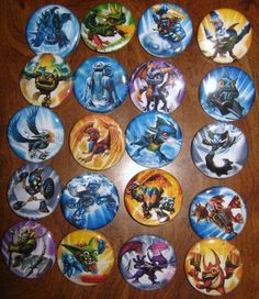20 Pin Back Button Party Favors Skylanders by PutOnYourPartyCap, $10.00