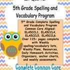 This is a 5th grade spelling and vocabulary unit.  It contains spelling and vocabulary lists and activities related to Common Core Standards.  This...