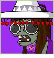 Me as a zombie going my holidays