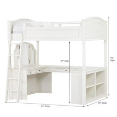 Shop chelsea vanity loft bed from Pottery Barn Teen. Our teen furniture, decor and accessories collections feature fun and stylish chelsea vanity loft bed. Create a unique and cool teen or dorm room. Dream Rooms, Dream Bedroom, Master Bedroom, Fantasy Bedroom, Bedroom Furniture, Bedroom Decor, White Furniture, Bedroom Sets, Floral Bedroom