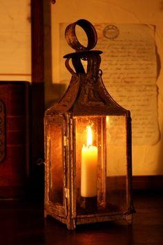 France candle lantern