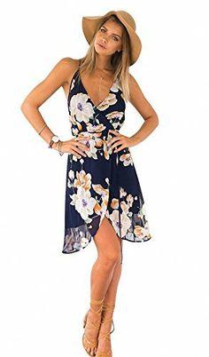 DESCRIPTION Fabric :Fabric has no stretch Season :Summer Type :Sun Pattern Type :Print Sleeve Length :Sleeveless Color :Multicolor Dresses Length :Short Style :Casual Material :Chiffon Neckline :Spagh Beach Dresses, Cute Dresses, Casual Dresses, Summer Dresses, Floral Dresses, Chiffon Dresses, Floral Sundress, Short Dresses, Printed Dresses
