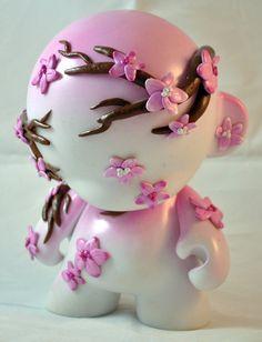 Cherry Blossom Munny by ~HeyKannaya on deviantART