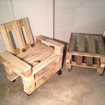 DIY Recycled Pallet Adorable Chair Ideas