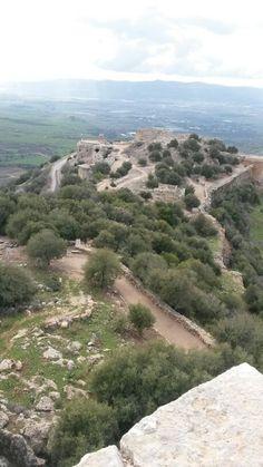 Nimrod fortress, Golan, Israel.