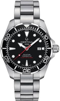 Certina Watch DS Action Diver Pre-Order #add-content #basel-17 #bezel-unidirectional #bracelet-strap-steel #brand-certina #case-depth-13-1mm #case-material-steel #case-width-43mm #date-yes #delivery-timescale-call-us #dial-colour-black #gender-mens #luxury #movement-automatic #new-product-yes #official-stockist-for-certina-watches #packaging-certina-watch-packaging #pre-order #pre-order-date-30-09-2017 #preorder-september #style-divers #subcat-ds-action #supplier-model-no-c032-407-11-051-00…