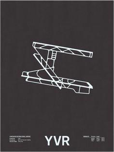 YVR airport, Runway Series - NOMO studio, Jerome Daksiewicz