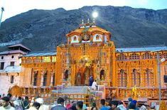 Badrinath temple, sometimes called Badrinarayan temple, is situated along the Alaknanda river, in the hill town of Badrinath in Uttarakhand state in India. It is widely considered to be one of the holiest Hindu temples, and is dedicated to Lord Vishnu. The temple and town are one of the four Char Dham and Chota Char Dham pilgrimage sites