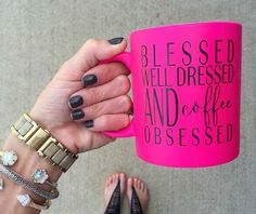 I just like the size and color of the mug... Wish it was different words