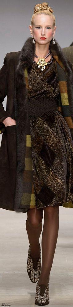 #Farbbberatung #Stilberatung #Farbenreich mit www.farben-reich.com Raffaella Curiel Couture Fall 2015 + c