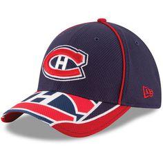 Montreal Canadiens New Era Team Illusion Diamond Era 39THIRTY Flex Hat - Navy