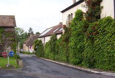 Street scene in Giverny - France