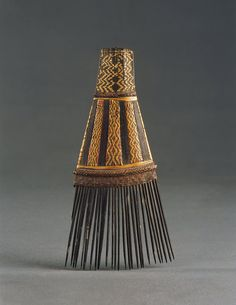 A Fine Malaita, Solomon Islands Man's Comb 'Faa' #Solomon Islands - #comb