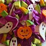 ★紫キャベツのハロウィンサラダ★ Halloween