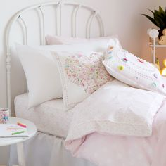 Image of the product Hearts Percale Cotton Bottom Sheet
