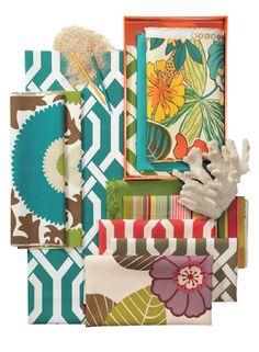 Key West Fabric Collection. Image: designdefinedblog.com via Calico Corners. #outdoor_fabrics