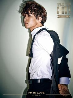 Junho 2PM 3rd Album  'Grown'  (Grand Edition)