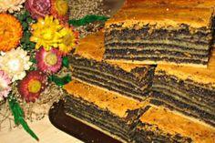 "Un desert frumos și incredibil de gustos: tort polonez ""Pani Walewska"" - Bucatarul Sweets Recipes, Cake Recipes, Cooking Recipes, Desserts, Poke Cakes, Lava Cakes, Poppy Seed Cake, Toffee Bars, Custard Cake"