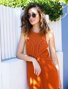 Vestido laranja!