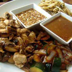 Benihana Hibachi Chicken and Hibachi Steak