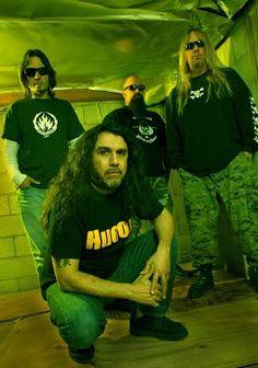 nice Slayer/Exodus Guitarist Gary Holt Demonstrates New ESP Signature Axe Metal Bands, Rock Bands, Gary Holt, Kerry King, Bass, Heavy Metal Music, Band Photos, Thrash Metal, Music Stuff