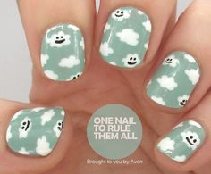Happy Clouds | One Nail To Rule Them All | Bloglovin'