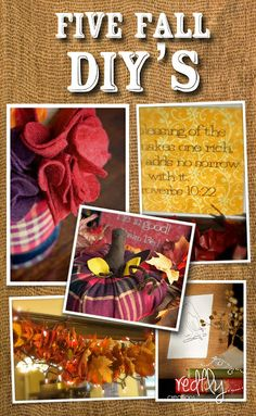 Five easy Fall DIY's