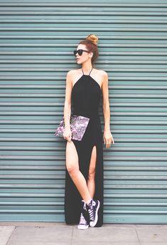 Vestido + tênis
