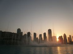 at the Fountain, Dubai Mall