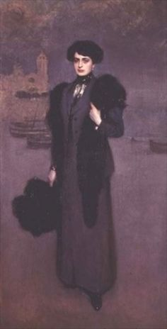 Famous paintings of Portraits: Portrait of Dolores Vidal
