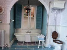 Badkamer Voor Poppenhuis : Stevige poppenhuis meubels tidlo poppenhuis badkamer