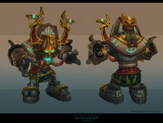 Zandalari golem by FirstKeeper.deviantart.com on @deviantART