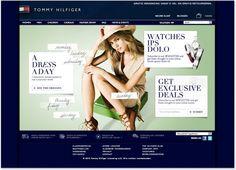 Tommy Hilfiger - Various campaigns & Newsletters by Nelleke van der Maas, via Behance