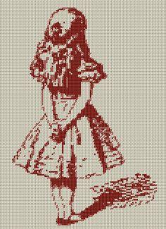 アリスの図案 販売開始 | クロスステッチ雑記帳『アトリエデイジー』                                                                                                                                                      もっと見る