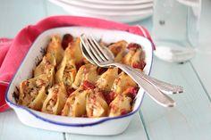 Conchiglioni gratinati alle zucchine e robiola  #Cirio #ricetta #recipe #pasta #italianrecipe