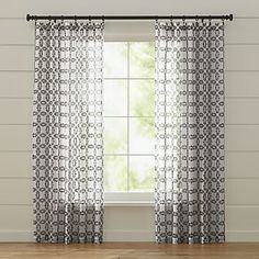 Molly White and Grey Curtains Another Top Choice. These would be lovely too!