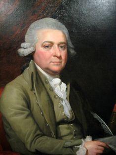 John Adams as a Diplomat,Painted by John Trumbull