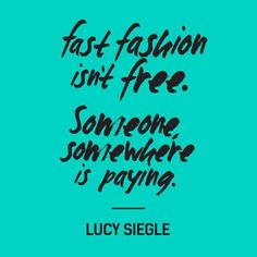 Fast fashion quote