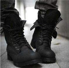 cool black boots - Google Search