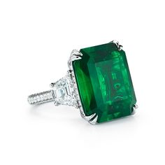 Amazing Colombian Emerald and Diamond Ring Emerald Jewelry, Gemstone Jewelry, Diamond Jewelry, Gold Jewelry, Fine Jewelry, Emerald Rings, Diamond Rings, Ruby Rings, Star Jewelry