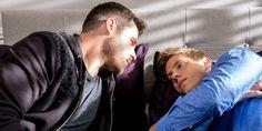 Aaron Dingle (Danny Miller) & Robert Sugden (Ryan Hawley) (May 2017)