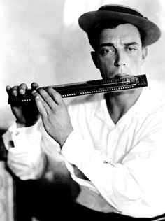 Buster Keaton by Melbourne Spurr