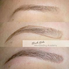 Branko Babić Microblading Academy  This artist inspires me, his work is beautiful, and so natural looking-perfection!:
