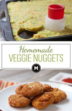 Homemade Veggie Nuggets are the perfect vegetarian alternative to the chicken nugget. Made with mashed carrots, broccoli, and golden beets. They are slightly sweet and perfectly crispy!