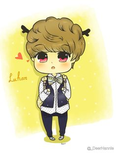 1000+ images about fanart on Pinterest | Luhan, Kpop and Exo