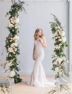 85e37e79a Set of 10 Silk Hydrangea Flowers Arch Wedding decor Floral Wedding  decorations Flower Wedding center
