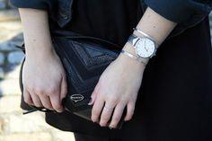 Spring Look // Cluse Watch // Little Bag // Infini-T Blog Bordeaux