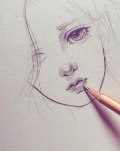 Drawing Techniques Pencil, Eye Drawing Tutorials, Painting Techniques, Realistic Eye Drawing, Nose Drawing, How To Draw Realistic, Anime Drawings Sketches, Pencil Art Drawings, Pencil Sketching