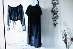 New in ... BLACK DRESS & OFF SHOULDER BLOUSE - xoxo HiLAMEE
