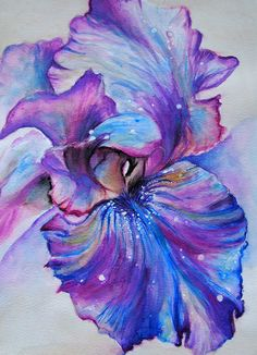IRIS Art Print - were i to ever get a galaxy tattoo.. i would base it off this